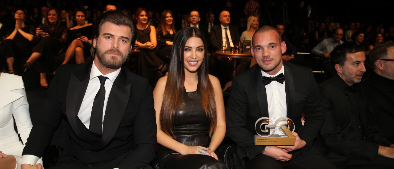 GQ Türkiye Ödül Töreninde Gecenin Fotoğrafı