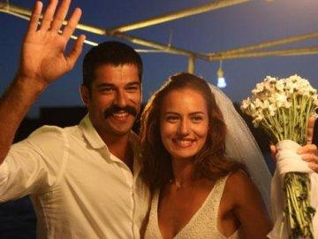 Burak Özçivit İle Fahriye Evcen Nişanlandı... Nişandan İlk Görüntüler
