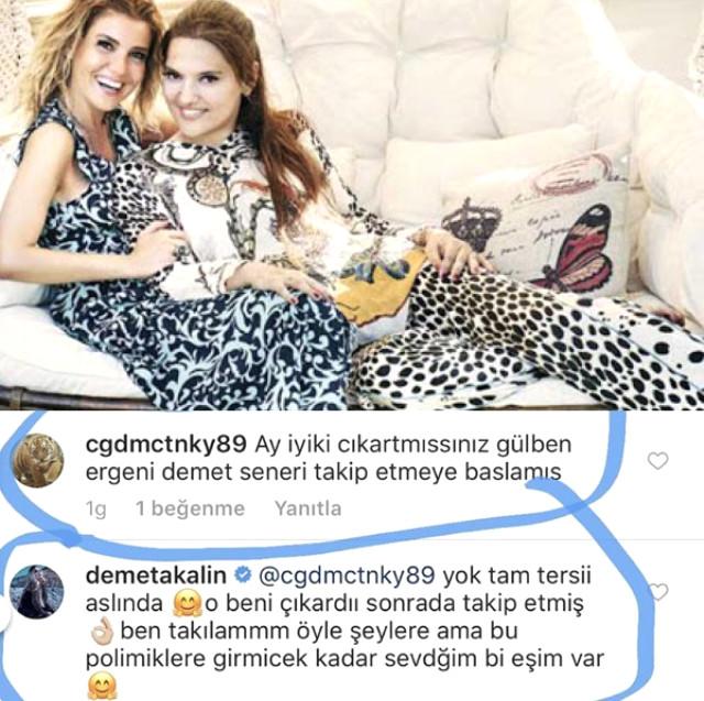 "Demet Akalın, Gülben Ergen'i ""Kocasıyla"" Vurdu!"