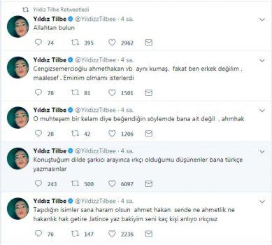 yildiz tilbeden ahmet hakana erkek degilsin 1508060704278 389x350 - Yıldız Tilbe'den Ahmet Hakan'a; ''Adam değilsin..''