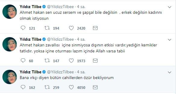yildiz tilbeden ahmet hakana erkek degilsin 1508060705324 - Yıldız Tilbe'den Ahmet Hakan'a; ''Adam değilsin..''