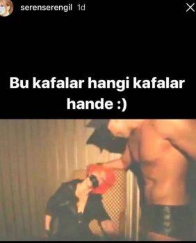 5a42d68718c773190c1fe71a 282x350 - Hande Yener, Seren Serengil'in üstsüz fotoğrafını paylaştı!
