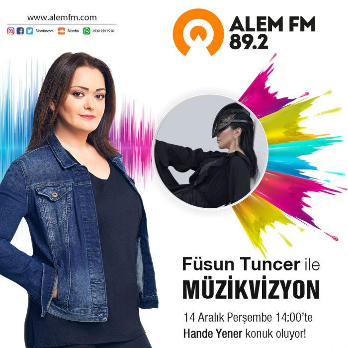 Hande Yener Alem FM'de!