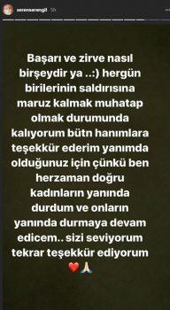 seren serengil ic 2 2 192x350 - Hande Yener, Seren Serengil'in üstsüz fotoğrafını paylaştı!