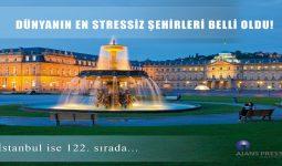Dünyanın En Stressiz Şehirleri Belli Oldu!