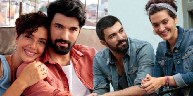 Bergüzar Korel ve Engin Akyürek'ten 14 Şubat Süprizi