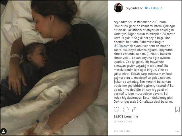 Güzel Oyuncu Ceyda Düvenci Hastaneye Kaldırıldı! Durumu Ciddi