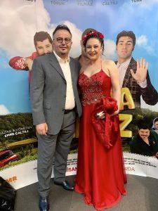 Derya Şen Akbacak ve Ayvaz Akbacak evliliklerini galada kutladılar!