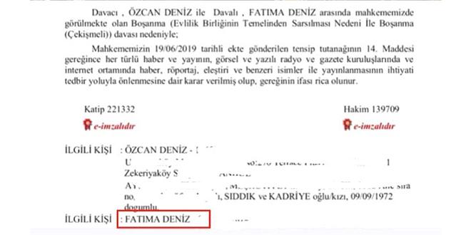 Özcan Deniz ve Feyza Aktan Boşanıyor! Şok Detay!