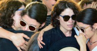Aykut Cömert'in Cenazesinde Beren İle Belçim Gözyaşlarına Boğuldu