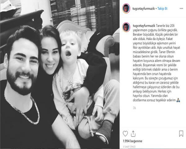 Tuğçe Tayfur boşanma kararı aldı!