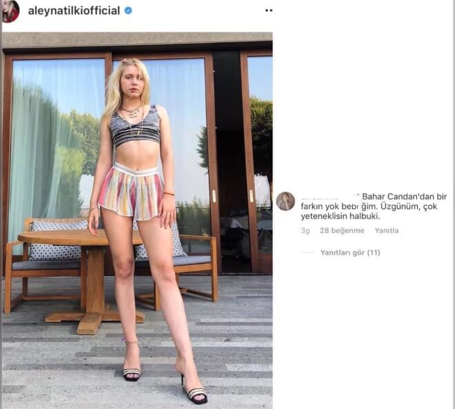 Aleyna Tilki'yi Bahar Candan Yorumu Çok Kızdıracak!