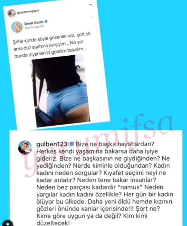 Gülben Ergen'den Ömür Gedik'e Zehir Zemberek Sözler!
