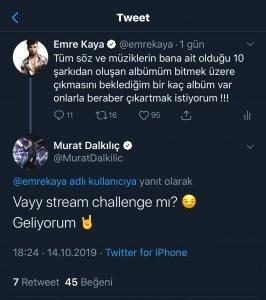 Emre Kaya Murat Dalkılıç Rekabet