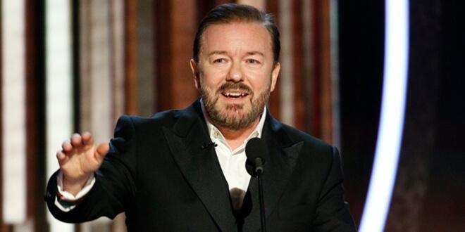 Ricky Gervais'in Altın Küre Ödülleri'ndeki Konuşmasıyla Olay Yarattı!