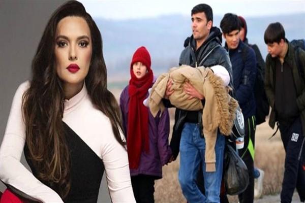 Demet Akalın'dan Mültecilere Olay Yorum!
