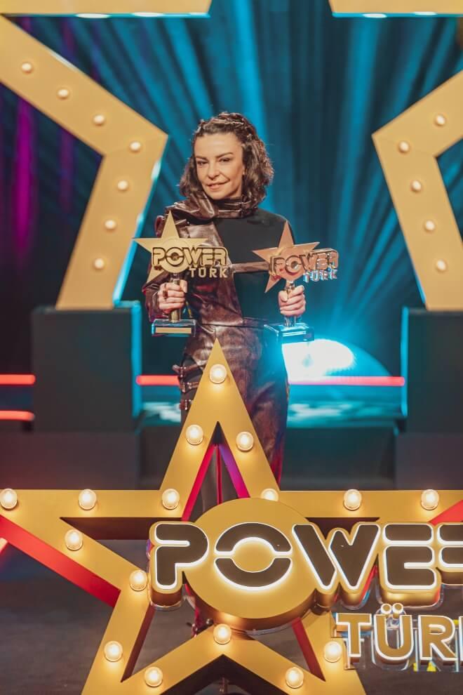 PowerTürk Müzik Ödülleri Fatma Turgut