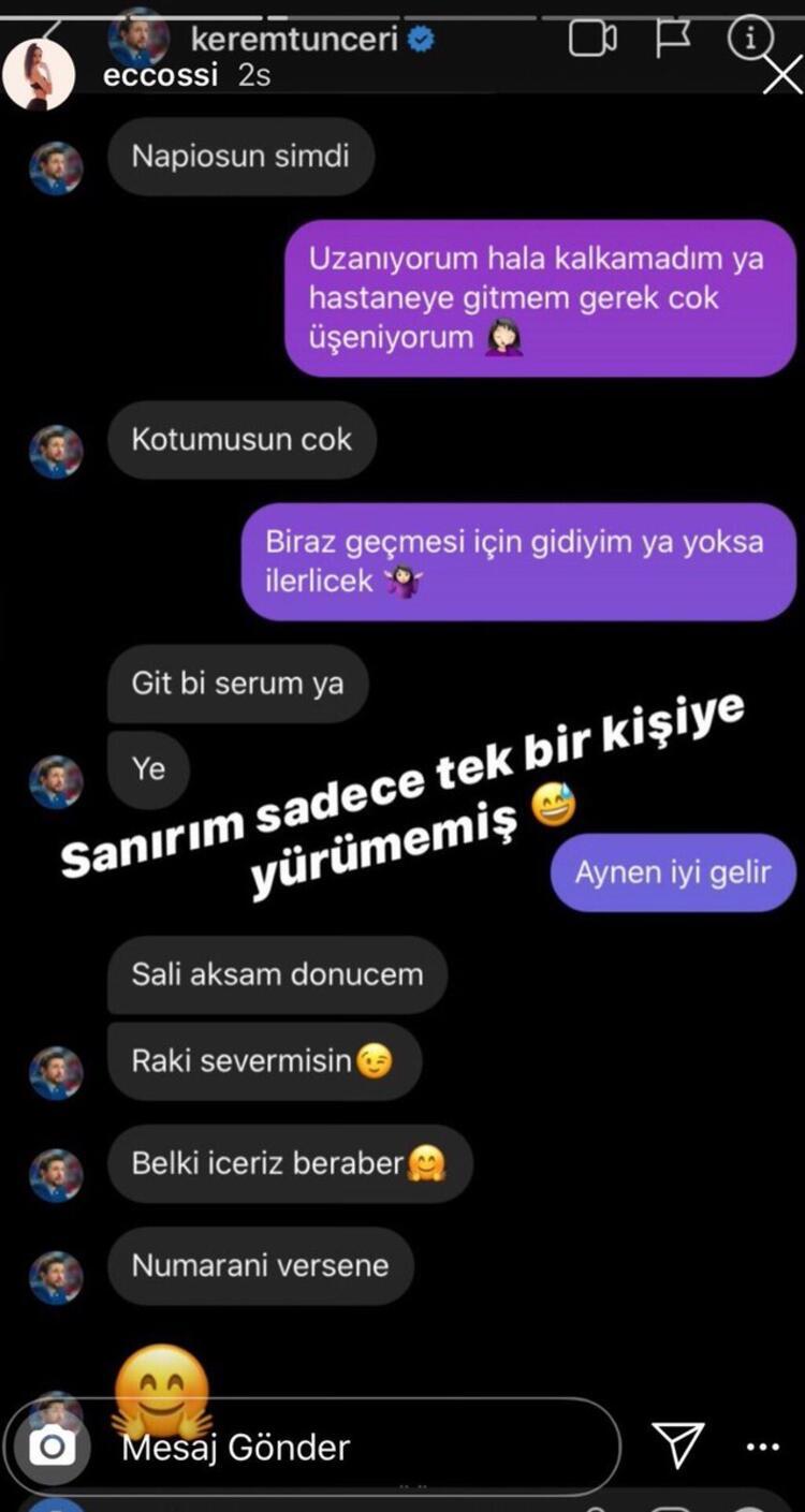 Elif Şen Azra'nınKerem Tunçeri whatsapp İfşası