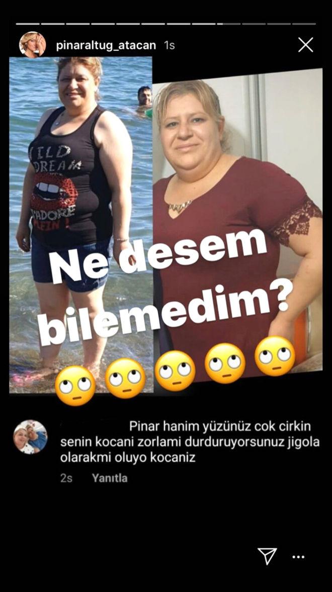 Pınar Altuğ'ya Eşi Üzerinden Saldırılar Bitmiyor