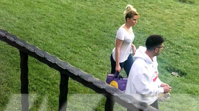 Zeynep Abdullah ile Reynmen Tenis Oynarken