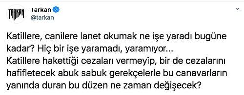 Duygulara Tercüman Olan Tarkan'ın O Pınar Gültekin Paylaşımı