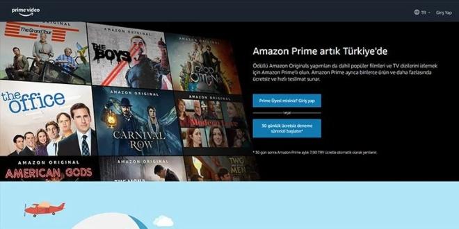 Amazon Prime'ın ilk Türk Dizisi belli oldu