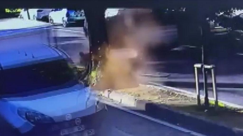 Enes Batur'un Trafik Kazası Anı