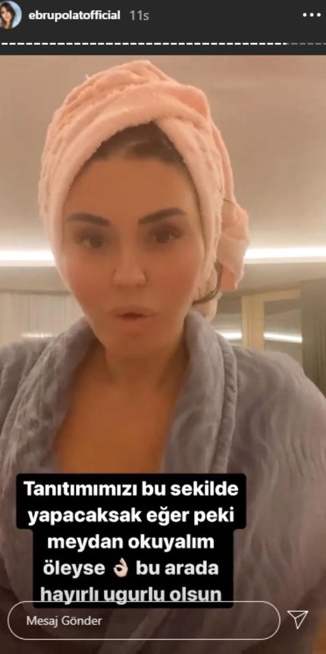 Ebru Polat'ın Banyodaki O Paylaşımı
