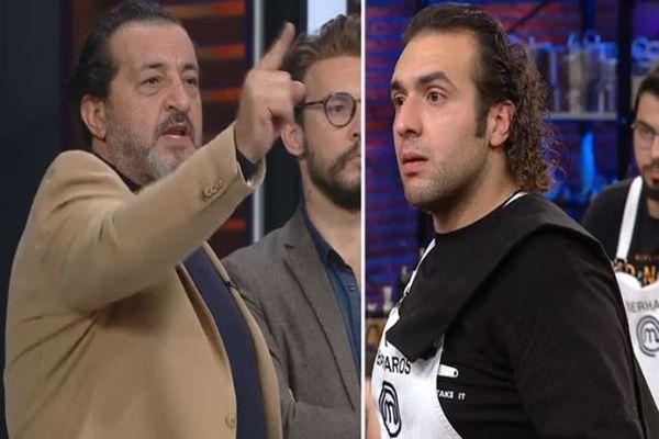Barbaros ile Mehmet Şef Birbirine Girdi