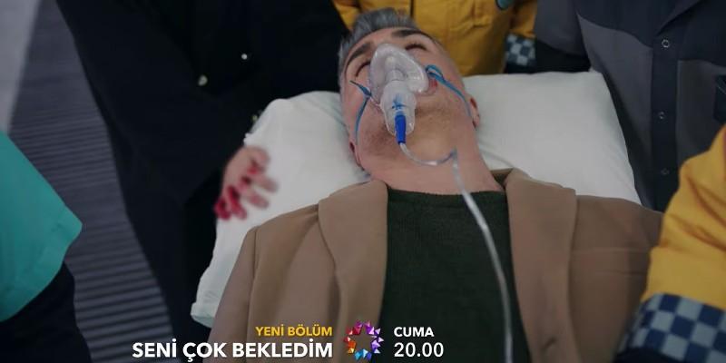 Yaralanan Kadir Hastaneye Kaldırılıyor