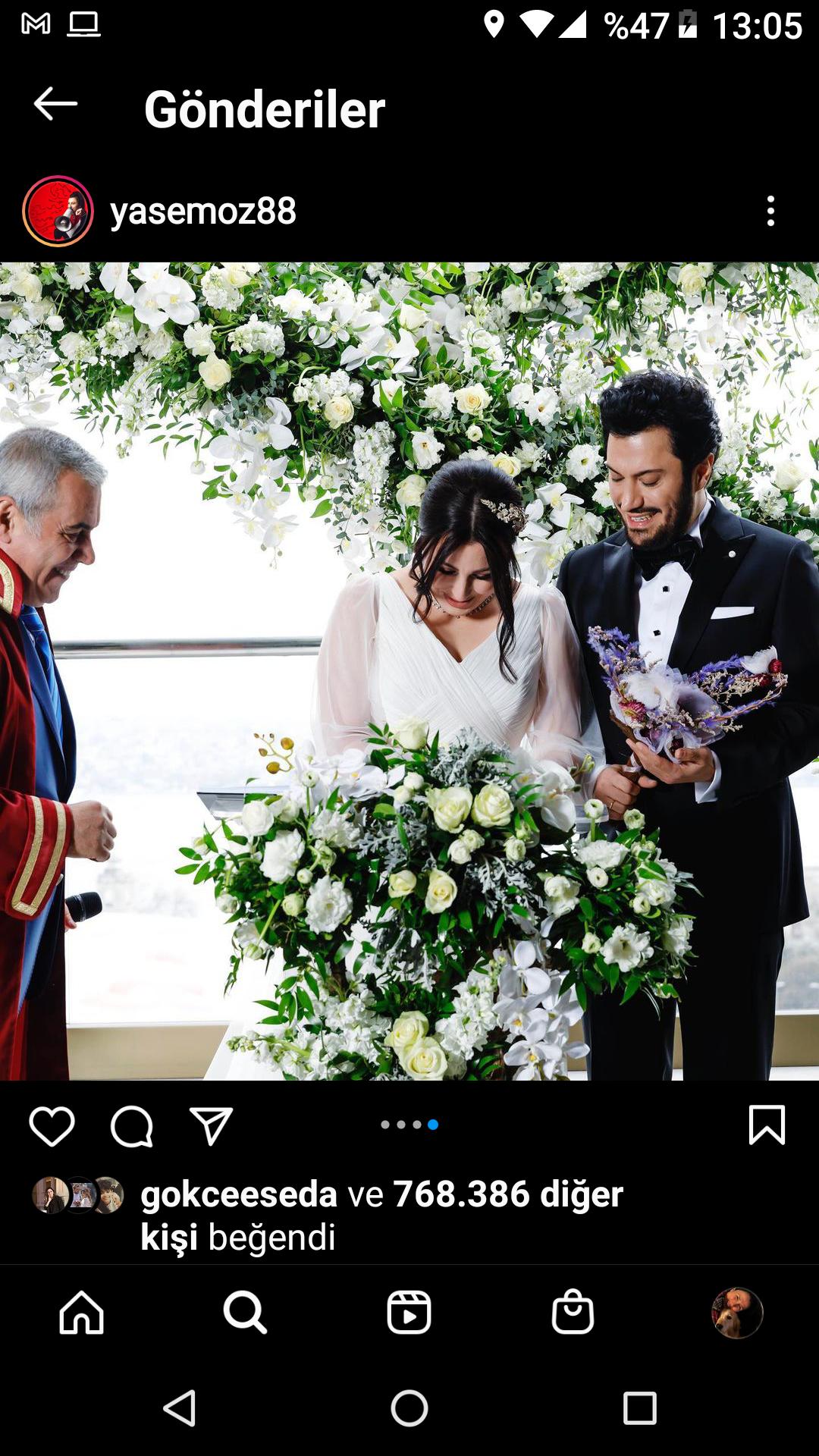 Yasemin Sakallıoğlu'nun Evlilik Pozları