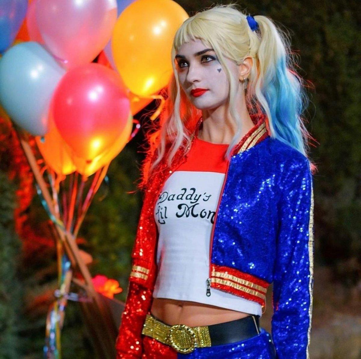 Tuba Büyüküstün Harley Quinn
