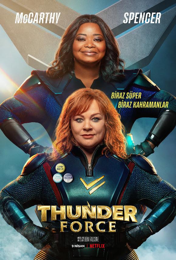 Thunder Force'un Afişi