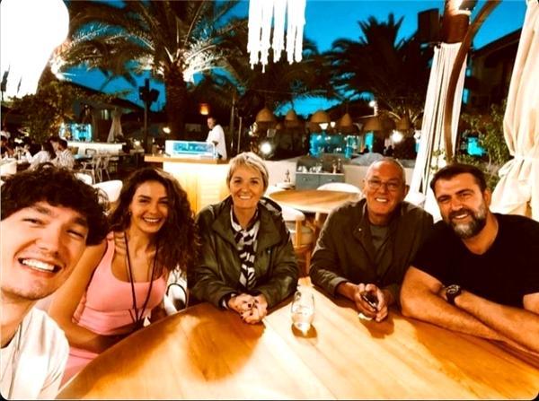 Ebru Şahin Cedi Osman'ın Ailesiyle Tanıştı