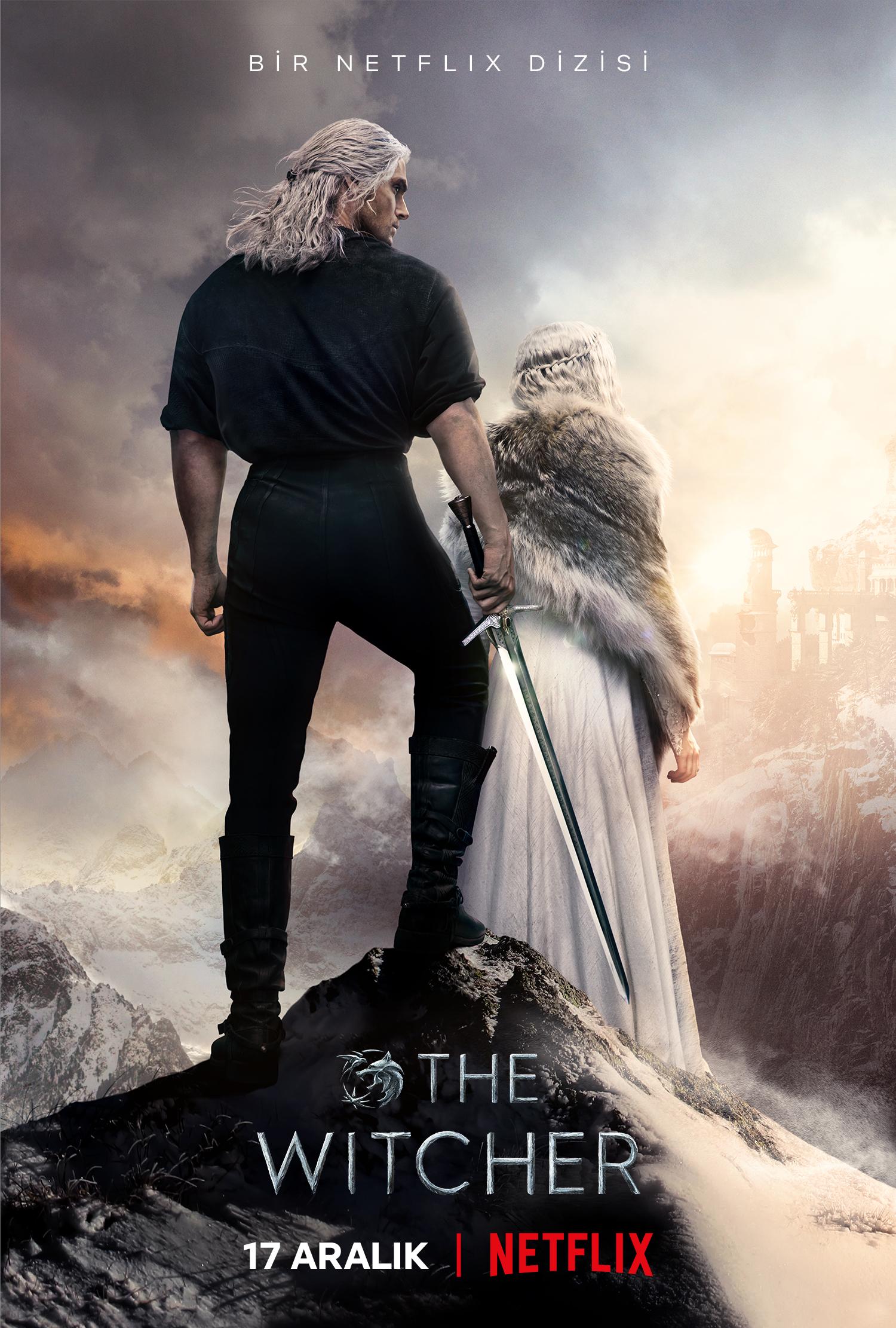 The Witcher Tarih duyurusu afişini