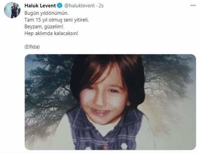 """Haluk Levent' in """"Elfida"""" Paylaşımı"""