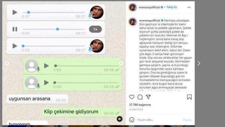 Mehmet Ali Erbil İfşa Olan Mesajları;