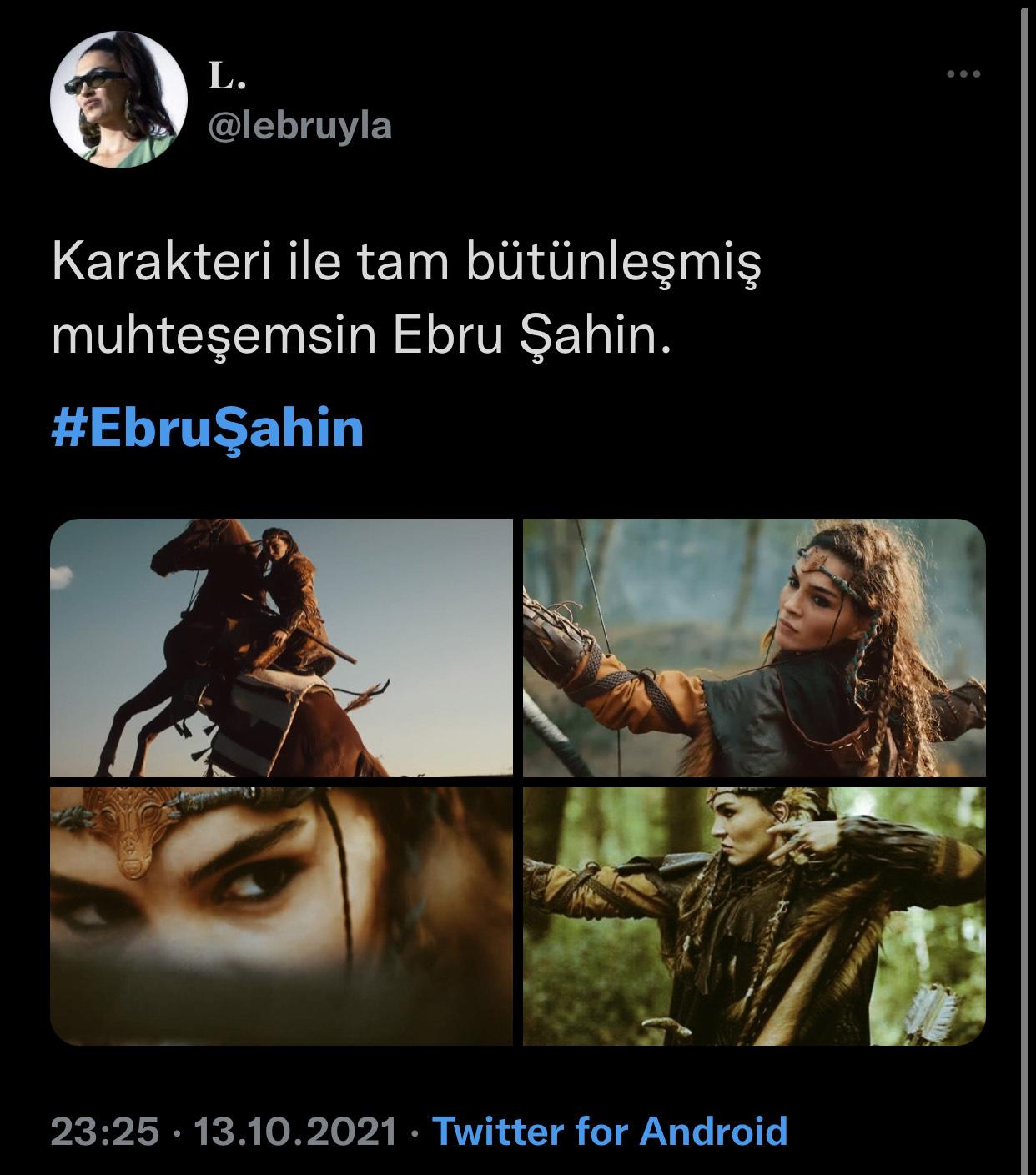 Ebru Şahin Akkız Tweetler